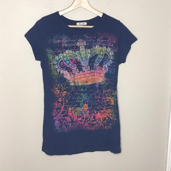 BLUENOTES Cotton Crown Tshirt Size XL NEW